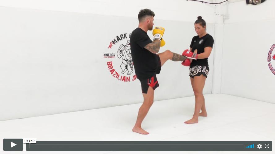 Thai - Catch the Teep Single Hand and Double Hand
