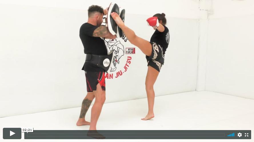 Thai - Left High Kick
