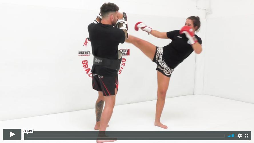 Thai - Right High Kick